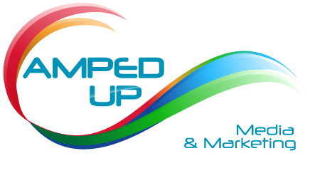 Amped Up Media Marketing Logo